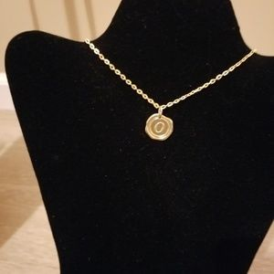 Miranda's Paparazzi Style Jewelry - Gold Necklace with Initial O Charm